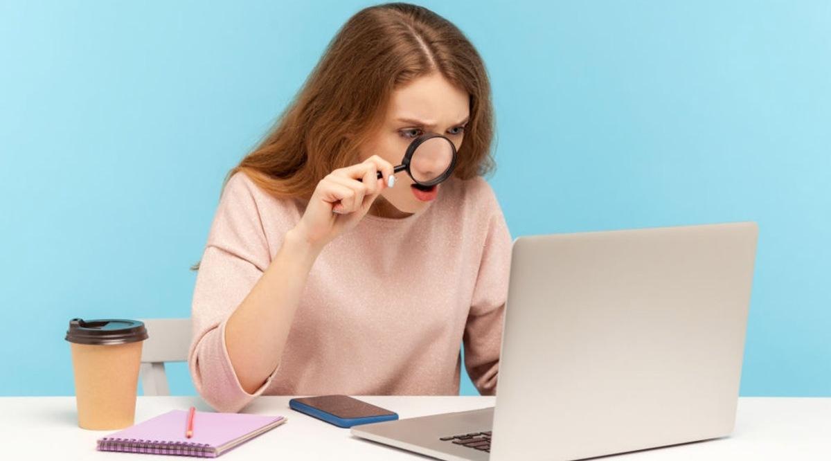 Reconocer un error en una solicitud de empleo
