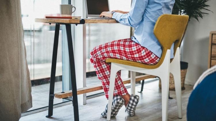 Pijama en home office