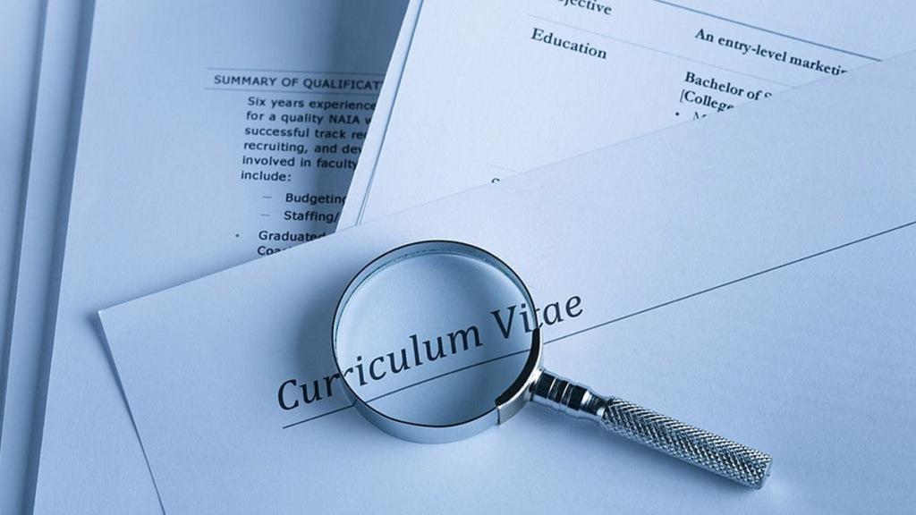 Rellenar la escolaridad en el curriculum